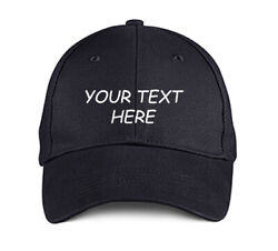 Design Your Own Hat Personalized Text Custom Ball Cap Embroidered with Color