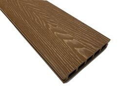 Brown Coloured Wpc Composite Decking 3.6m Boards + All Fixings/edgings Included