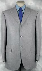 ®¿®¬ Excellent_46l_nwt_275o Gianluca Isaia Super_100s_wool-cashmere Blend 09013