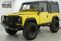 1994 LAND ROVER DEFNDER RARE NAS SOFT TOP V8 LIFT LOW MILES! CALL 1-877-422-2940! FINANCING! WORLD WIDE SHIPPING. CONSIGNMENT. TRADES. FORD