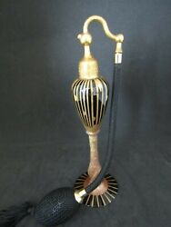 Antique Devilbiss Perfume Atomizer , 1926, Black And Gold