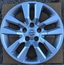 1 New 16 Silver Hubcap Wheelcover That Fits 2007-2018 Nissan Altima