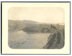 U.s.a. Wyoming Mount Lookout Colliery Vintage Print Tirage Platine 75x1