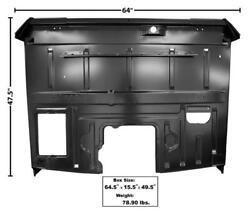 1953-55 Ford Pickup Truck Floor Panel Complete Assembly