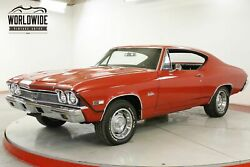1968 CHEVROLET CHEVELLE SS TRIBUTE BIG BLOCK 396 V8 AUTO STAPLE SHIFT PS PB CALL 1-877-422-2940! FINANCING! WORLD WIDE SHIPPING. CONSIGNMENT. TRADES. FORD