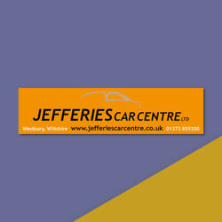 Personalised Car Stickers - Great For Car Garages