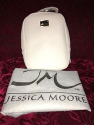 Jessica Moore Designer Small Backpack Purse W Dust Bag Leather Ladies NEW!