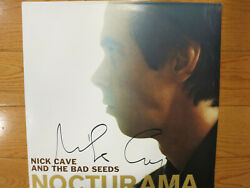 Nick Cave Signed Album Acoa + Proof Nick Cave And The Bad Seeds Autographed Lp