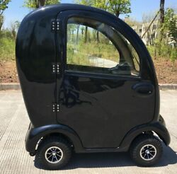 2020 Luxury Boomer Buggy II 4 Wheel Mobility Aid - Roof and Heater 31.5