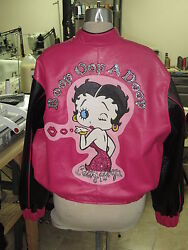 Womenand039s Betty Boop Leather Jacket