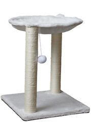 20quot; Inch Cat Tree Play Tower Bed Furniture Scratch Post Toy Hammock Rest Ball
