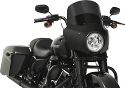 Memphis Shades Road Warrior Faring And Black Mount Kit For 99-19 Harley Touring