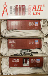 Accurail Ho 8115 8115.1 8115.2 And 8115.3 Aar Boxcar Up 3 Pack