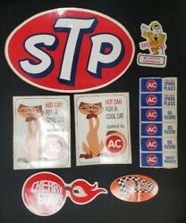 Vintage Ac Delco Hot Car For A Cool Cat Stp Bardahl Decal Lot Hot Rod Rat Rod