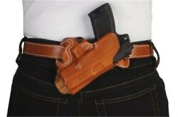 Desantis Small Of Back Leather Holster S/a Xd 4 In/sig P229r Tan Right 067ta88z0