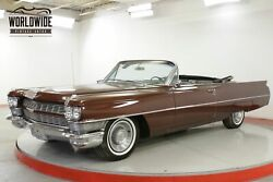 1964 CADILLAC DEVILLE 429V8 AUTOMATIC PS PB POWER TOP CALL 1-877-422-2940! FINANCING! WORLD WIDE SHIPPING. CONSIGNMENT. TRADES. FORD