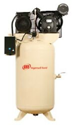 Ingersoll Rand 7.5hp 230/1 2475n7.5-p Two Stage Cast Iron Air Compressor