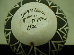 Lucy M. Lewis Pottery/native American Acoma Pueblo