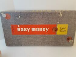 Vintage Easy Money Board Game By Milton Bradley Complete, 4620, 1956 Edition