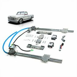 Chevy Truck 1967-72 Flat Glass 2-door One Touch Power Window Conversion Kit C10