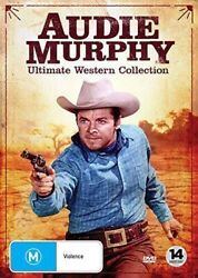 Audie Murphy Ultimate Western Collection [new Dvd] Boxed Set Ntsc Region 0