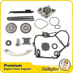 Fit Chevrolet 2.2l 00-08 Timing Chain Kit Water Pump Gasket Gear Oiler Bolts