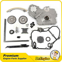 For 00-10 Chevy Pontiac Timing Chain Kit Oil Pump Gasket Gear Oiler Bolt 2.2l