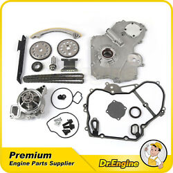 Timing Chain Kit Gasket Oil Water Pump Gear Oiler Bolts Fit Chevy 2.2l 00-08