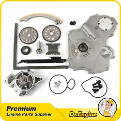 Fit 02-10 Chevrolet 2.2l Timing Chain Kit Oil Water Pump Timing Gear Oiler Bolts