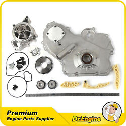 Fit Chevy Saturn 2.2l Timing Chain Kit Oil Water Pump Gear Oiler Bolts 02-10