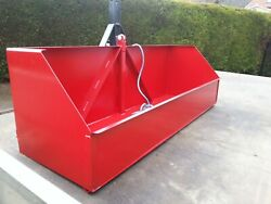 Tractor Tipping Box Mount 3 Point Linkage Transport Farm Field Carrierandnbsp6 Ft.
