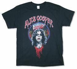 Alice Cooper Heads Will Roll 2016 Tour V.i.p. Black T Shirt New Official Merch