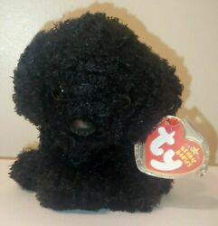 Ty Beanie Baby - Outlaw The Black Dog 5.5 Inch Mint With Mint Tags