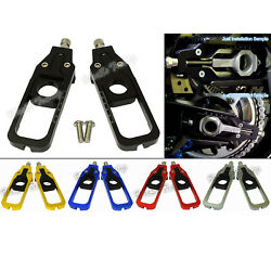 Rear Axle Chain Adjuster Tensioners For Bmw Hp4 S1000r 12-16 S1000rr 2009-2014