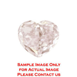 3.03ct Natural Heart Loose Diamond GIA Certified Fancy PinkSI2 (6173624979)