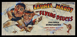 THE GREATEST COMEDY MOVIE POSTER IN THE HISTORY OF LAUGHTER 1939 LAUREL