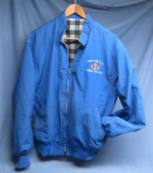 Rare Vintage Amoco Embroidered Randd Employee Full Zip Flannel Lined Jacket