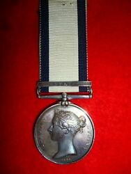 Naval General Service Medal 1793-1840 Syria To A Boy Served Hms Cyclops