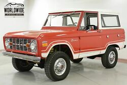 1974 FORD BRONCO EXTENSIVE RESTORED UNCUT 351 V8 PS PB 4X4 CALL 1-877-422-2940! FINANCING! WORLD WIDE SHIPPING. CONSIGNMENT. TRADES. FORD