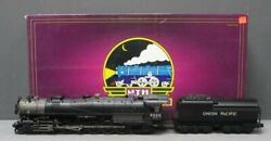 MTH 20-3293-1 Union Pacific 4-12-2 9000 Steam Engine with PS2 (Hi-Rail Wheels)