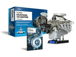 1965 Ford Mustang Engine Model With Collectorand039s Handbook