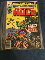 Marvel Super Heroes Featuring The Incredible Hulk Comic Books