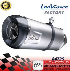 Exhaust System Complete 4/2/1 Leovince Factory S Inox Bmw S 1000 Rr 2013 2014