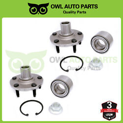 2 Front Wheel Bearing Hub For 2001-2011 2012 Mercury Mariner Ford Escape 518515