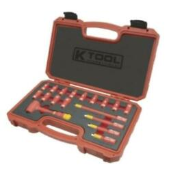 K Tool International Is-ws2018 18-piece 1/4 Drive 6 Point Insulated Socket