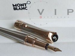 Etoile Eternelle Sterling Silver And Diamond Fountain Pen Stylo Plume M