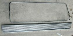 1957 Cadillac Rh Front Door Armrest Lower And Round Trim Molds Lot Of 2 Orig 57