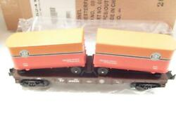 Lionel Limited Production- 52410- Ttos 2006- Sp Flat W/trailers - 0/027- New- B6