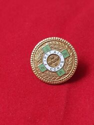 9k Yellow Gold First Aid Corp Medallion Efficiency 1964