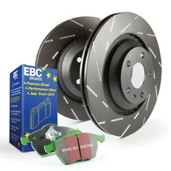 Disc Brake Pad and Rotor Kit-LE Rear EBC Brake S2KR2569